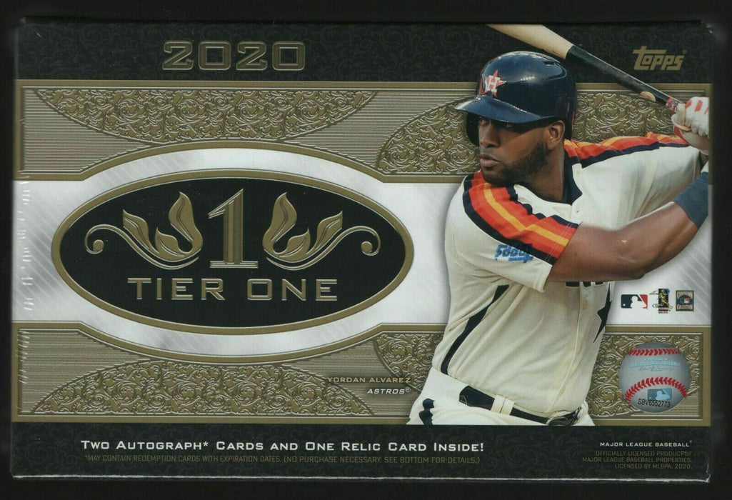 Topps - 2020 - Baseball - Tier One - Hobby Box
