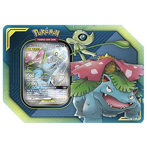 Pokemon - Celebi & Venusaur-GX - Tin