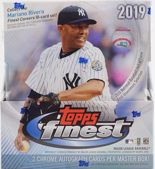 2019 Topps - Finest Baseball - Hobby Box