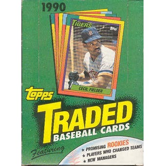 Topps - 1990 - Baseball - Traded - Hobby Box