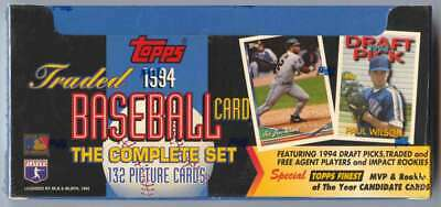 Topps - 1994 - Baseball - Traded and Rookies Baseball - The Complete Set