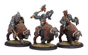 Hordes - Trollbloods - Trollkin Long Riders Cavalry Unit - PIP 71080 Privateer Press | Cardboard Memories Inc.