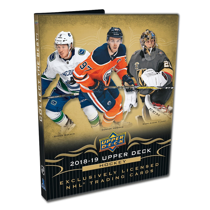 Upper Deck - 2018-19 - Hockey - Series 1 - Starter Kit Binder