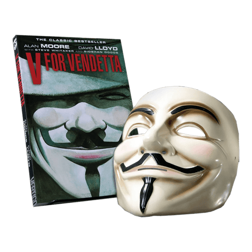 DC Collectibles - V for Vendetta Book and Mask Set
