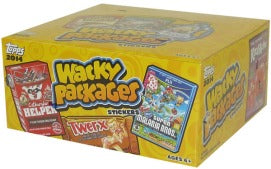 2014 Topps Wacky Packages Series 1 Stickers Hobby Box Topps | Cardboard Memories Inc.