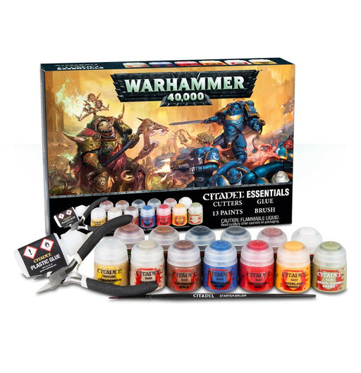 Games Workshop - Warhammer 40K - Citadel Essentials Paint Set