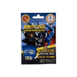 Dice Masters - DC World's Finest - Gravity Feed Booster Pack Wizkids | Cardboard Memories Inc.
