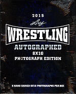 2015 Leaf Wrestling Autographed 8x10 Photograph Edition Leaf | Cardboard Memories Inc.