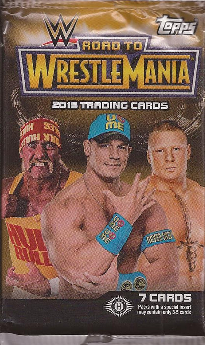 2015 Topps Road to Wrestlemania WWE Hobby Pack Topps | Cardboard Memories Inc.