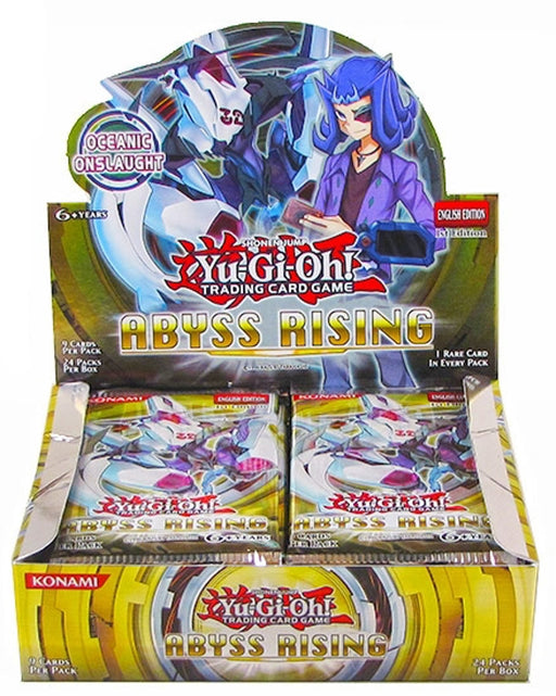 Yu-Gi-Oh! Abyss Rising Booster Box (1st Edition)