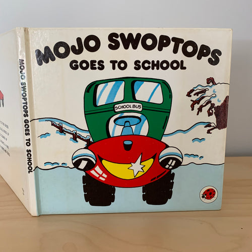 Mojo Swoptops Goes To School
