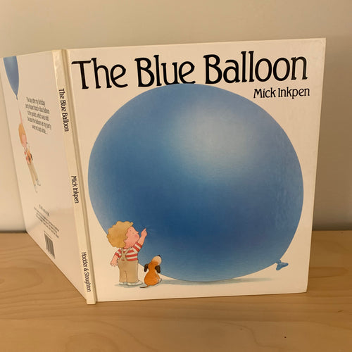 The Blue Balloon (signed)