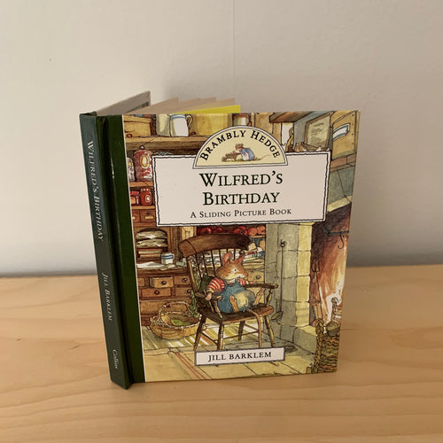 Brambly Hedge: Wilfred's Birthday - A Sliding Picture Book