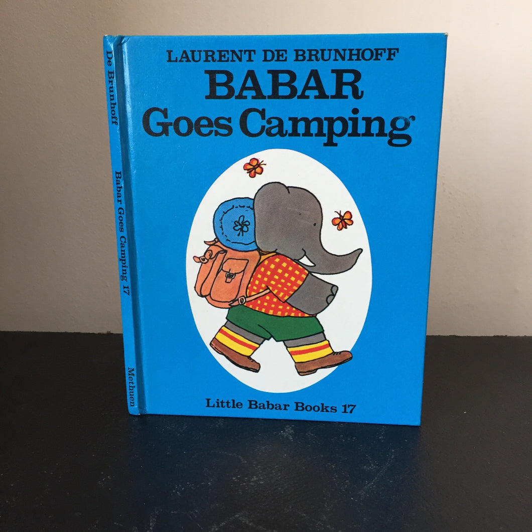 Babar Goes Camping. Little Babar Books no.17
