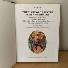 The Making of Tintin in the World of the Inca
