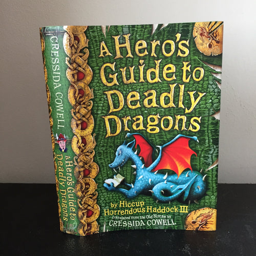 A Hero's Guide To Deadly Dragons (signed)