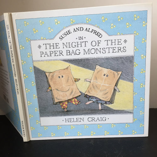 Susie And Alfred In The Night Of The Paper Bag Monsters