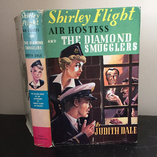Shirley Flight Air Hostess And The Diamond Smugglers