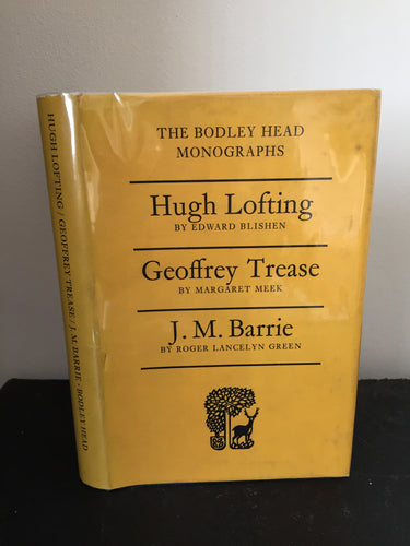 The Bodley Head Monographs: Hugh Lofting, Geoffrey Trease & J.M. Barrie