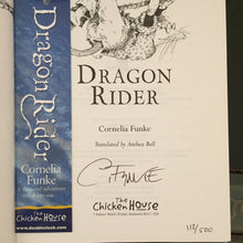 Dragon Rider. Slipcase (signed limited edition with book mark)