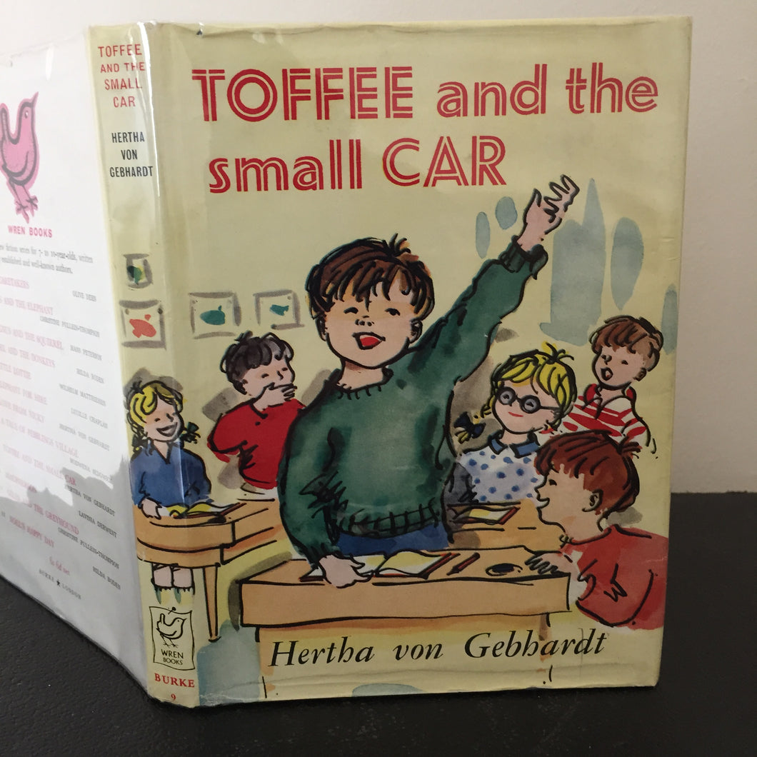 Toffee and the Small Car. A Wren Book