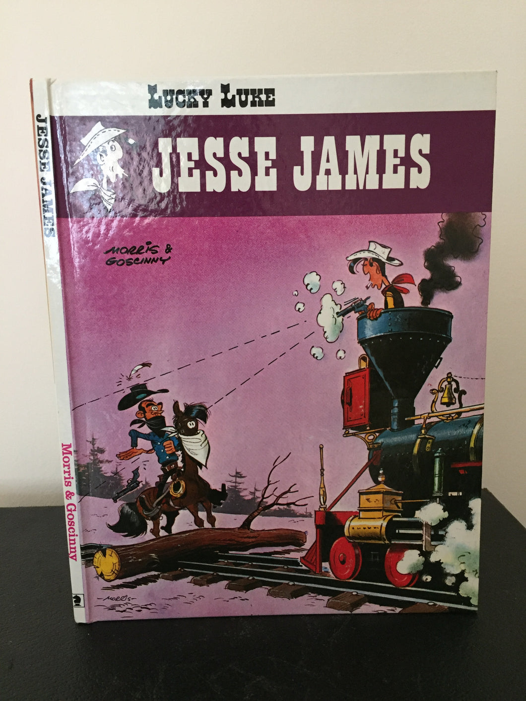 Lucky Luke - Jessie James