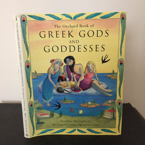 The Orchard Book of Greek Gods and Goddesses (signed)