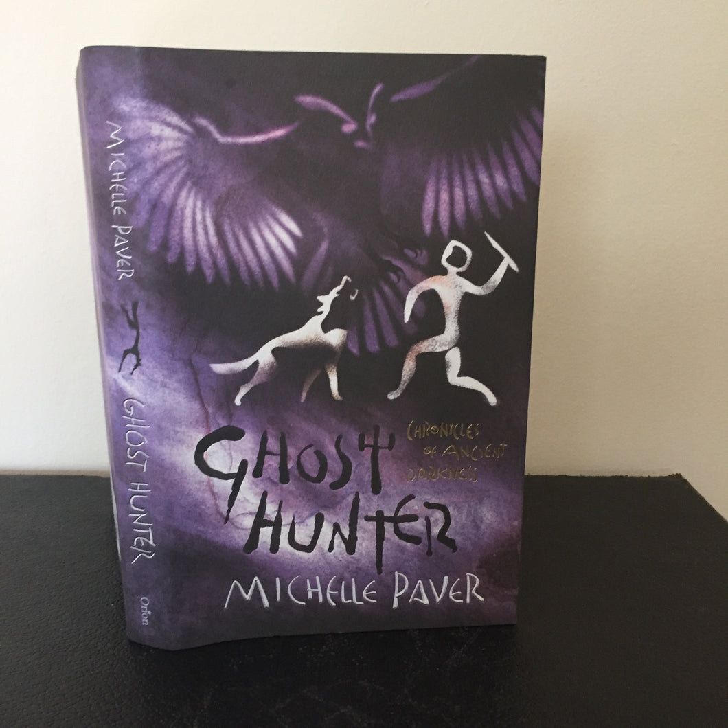 Ghost Hunter. With promotional card and holder