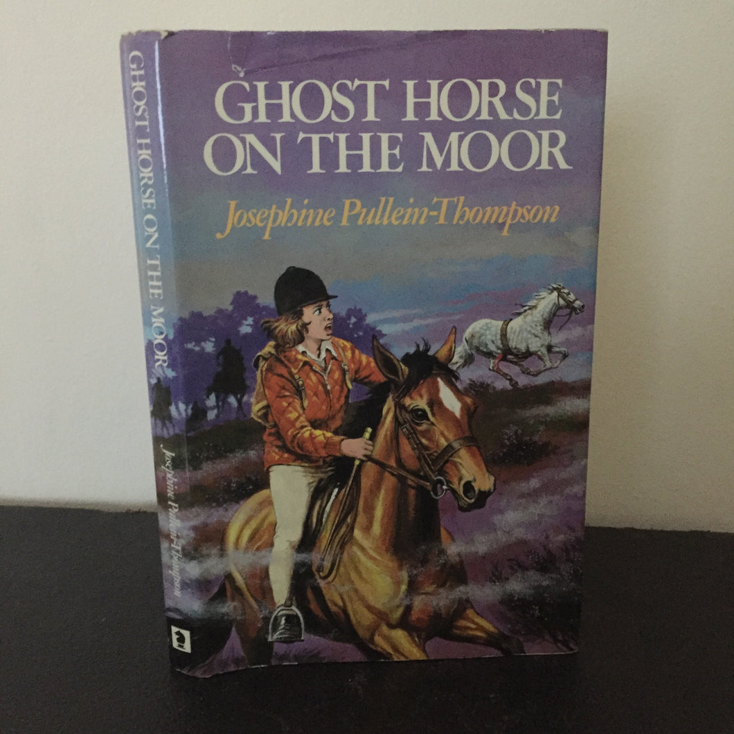 Ghost Horse on the Moor