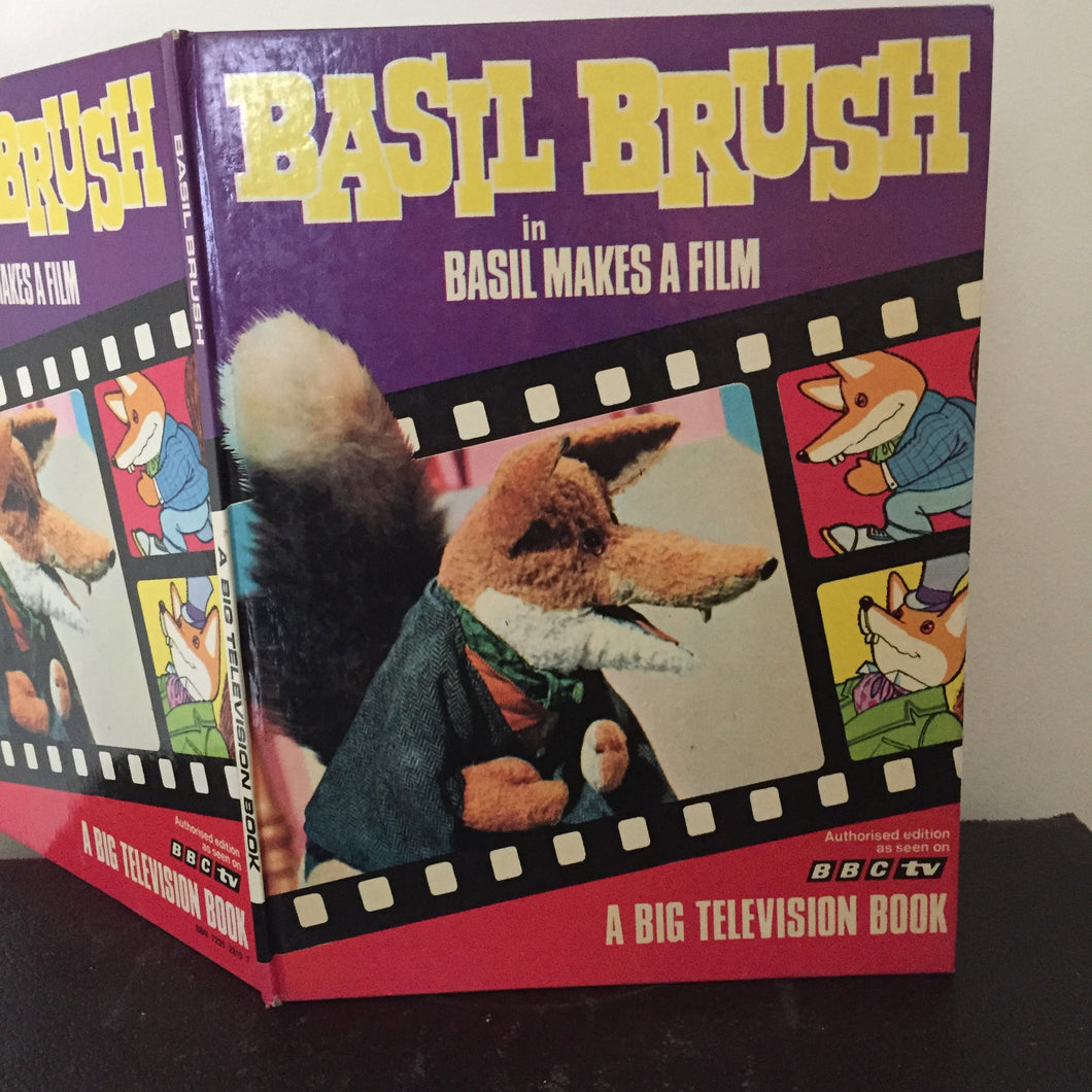 Basil Brush in Basil Makes A Film
