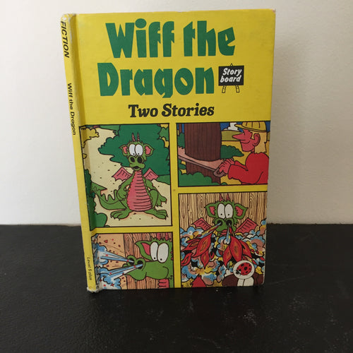 Wiff the Dragon - Story board. Two Stories. To the Rescue & The Secret Weapon - series 815
