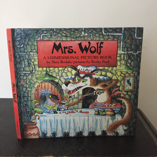 Mrs Wolf. A 3-Dimensional Picture Book