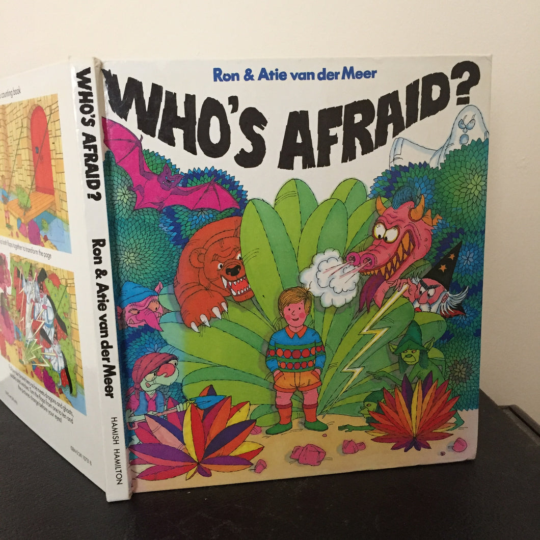 Who's Afraid? A lift the flap counting book.