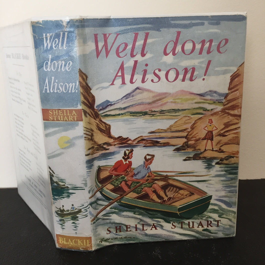 Well Done Alison! (signed)