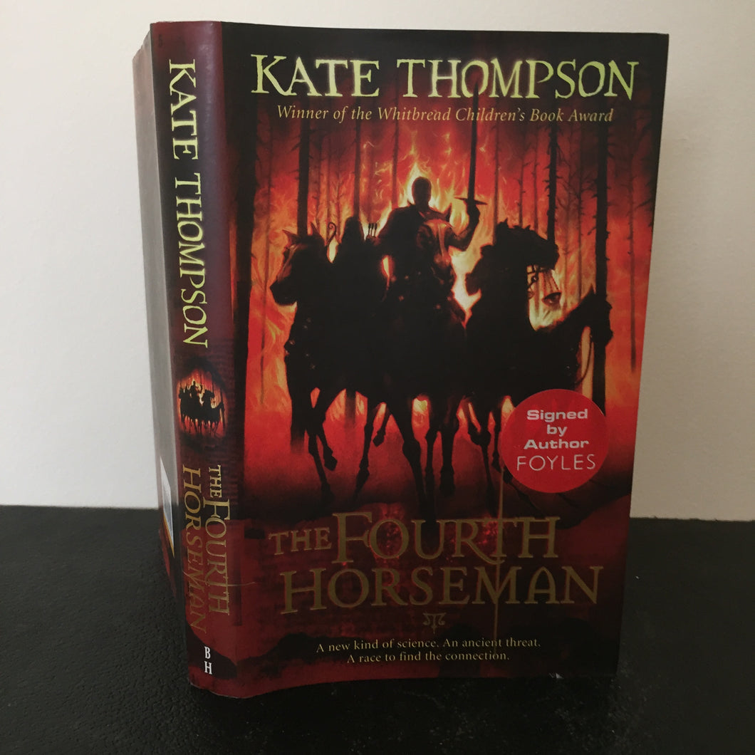 The Fourth Horseman. Signed