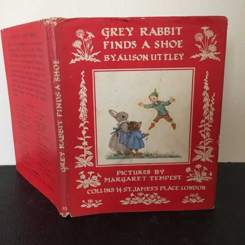 Grey Rabbit Finds A Shoe