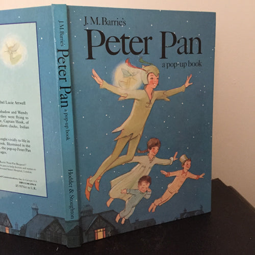Peter Pan - a pop-up book