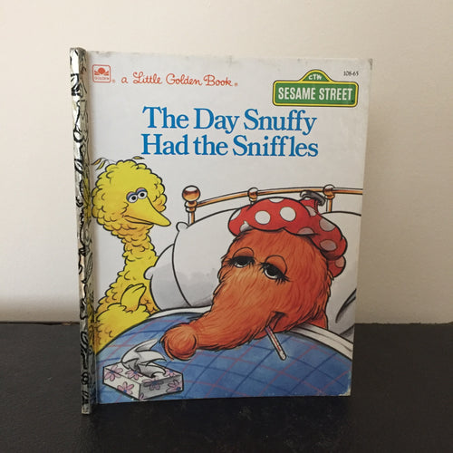 Sesame Street - The Day Snuffy Had the Sniffles