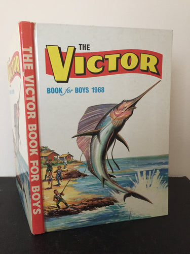 The Victor Book For Boys Annual 1968