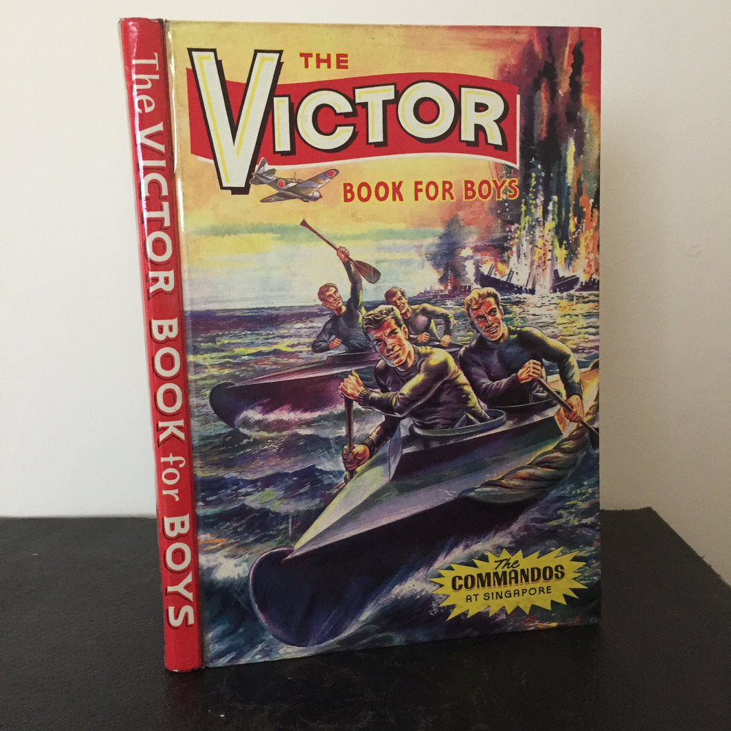 The Victor Book For Boys Annual 1965