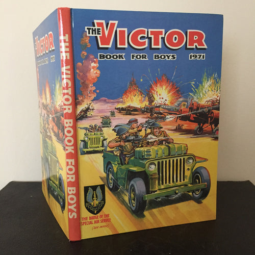 The Victor Book For Boys Annual 1971