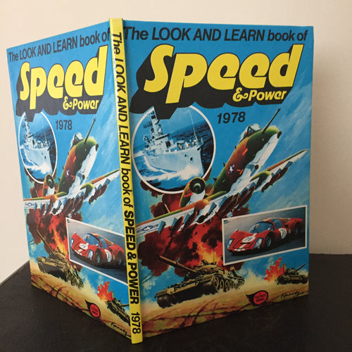 Look and Learn Book of Speed & Power 1978