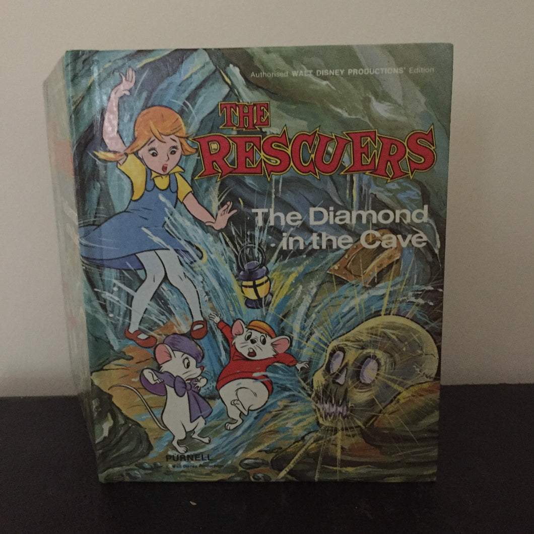 Walt Disney Production presents - The Rescuers. The Diamond in the Cave
