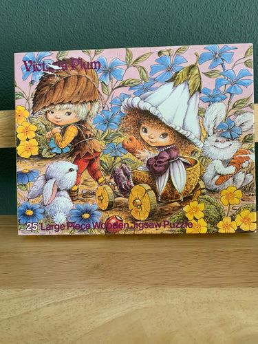 Victoria Plum - 25 Large Wooden Piece Jigsaw