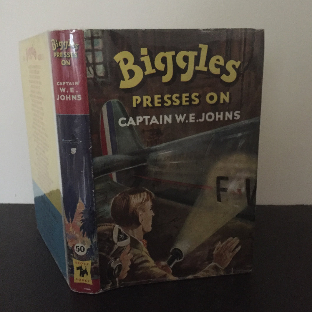 Biggles Presses On