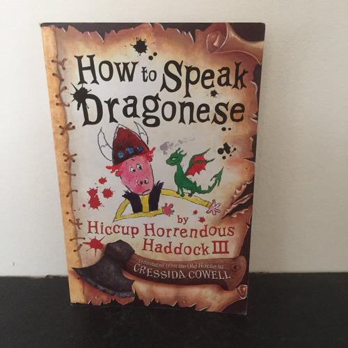 How To Speak Dragonese (signed)