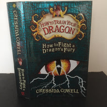 How To Fight a Dragons Fury (signed & doodle)