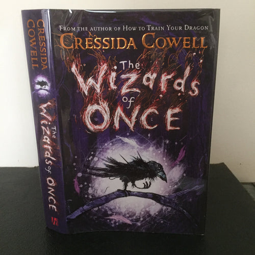 The Wizards of Once  (signed)