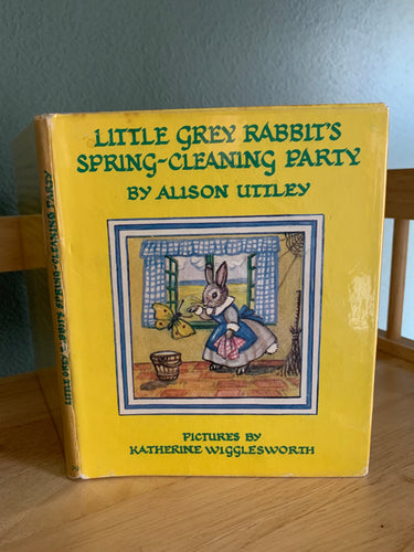 Little Grey Rabbit's Spring Cleaning Party
