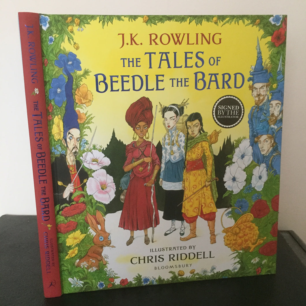The Tales of Beedle The Bard (signed)